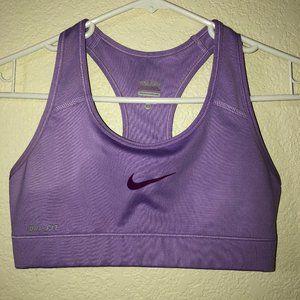 NIKE PRO Lavender Sports Bra XS